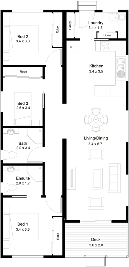 Acton Floor Plan