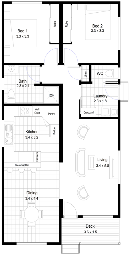 Derwent Floor Plan